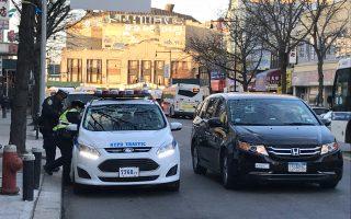法拉盛緬街夾37大道交通執罰加強