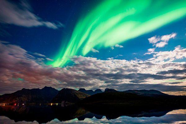 冬季去北歐看極光