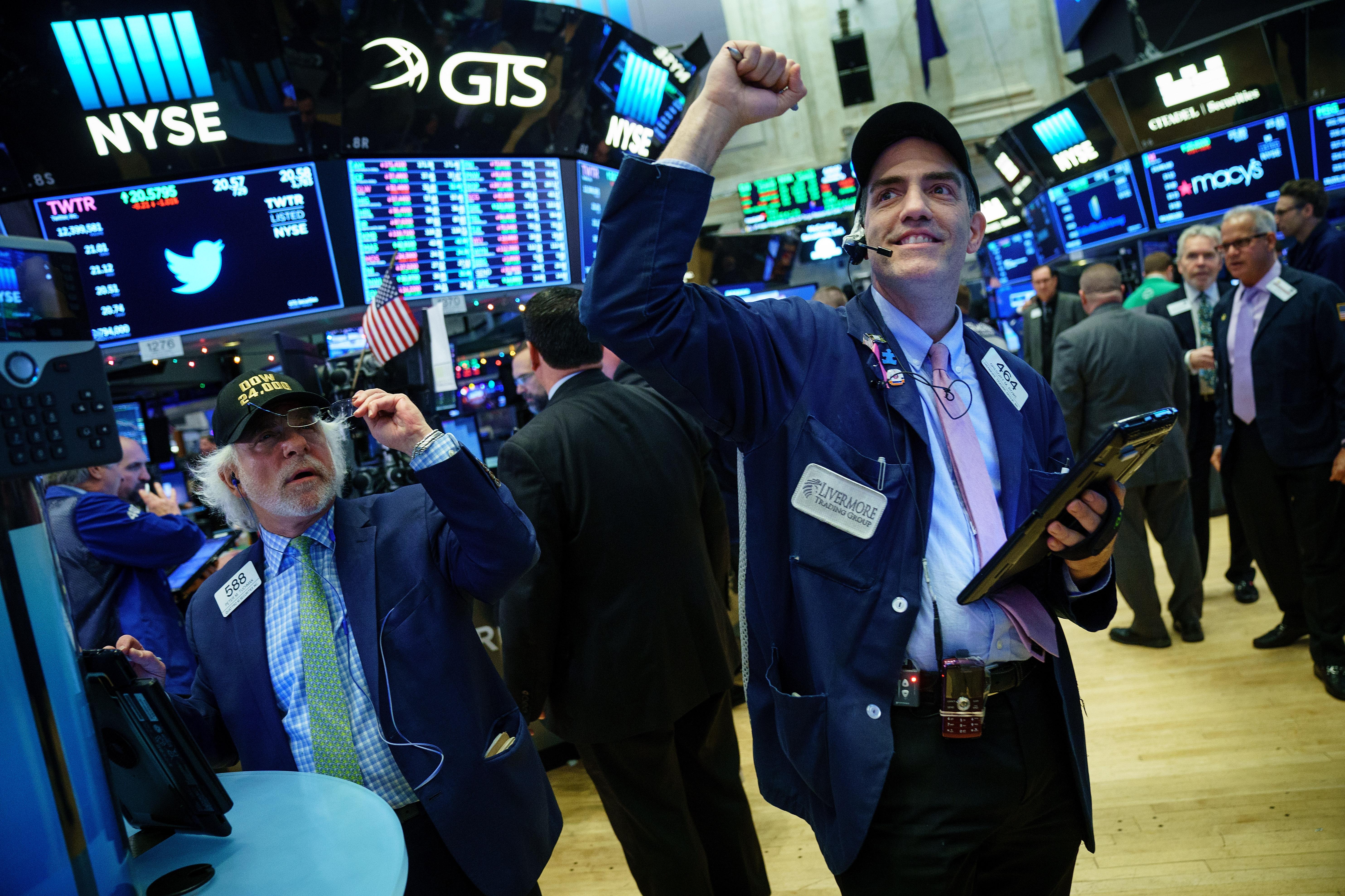 企業盈餘支撐 2019年美股或跌深反彈