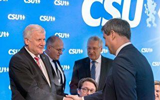 基社盟主席西霍夫將讓出巴伐利亞州長位置