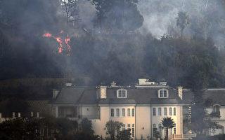 豪宅區野火肆虐 洛杉磯15萬人撤離405關閉一段
