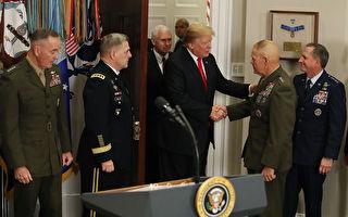 美海军陆战队司令警告士兵:战争即将来临