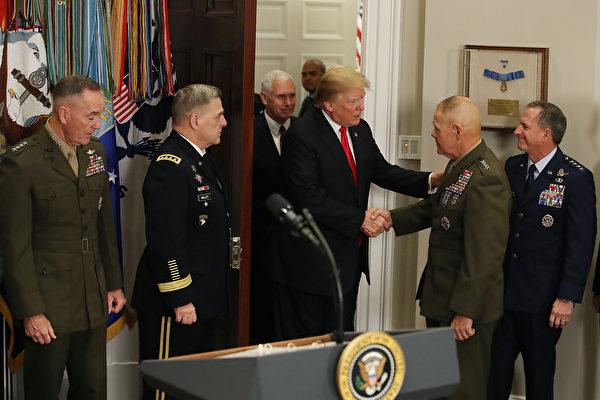 美海軍陸戰隊司令警告士兵:戰爭即將來臨
