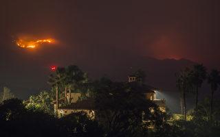托马斯火成加州史上最大山火 焚毁逾千房屋