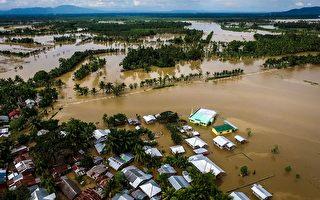 组图:热带风暴袭菲律宾 180死160失踪