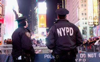 紐約跨年夜安保 史上最嚴