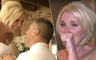 婚礼开始 轮椅上的新郎突秀秘密 让新娘瞬间泪如雨下