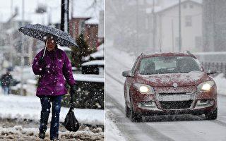 雪中驾车见99岁老妇独行 好心妈妈立即停车救人