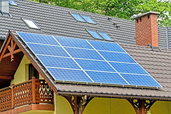 前院架太阳能板 邻居反感