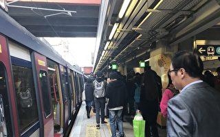 港東鐵上下班故障癱瘓兩小時