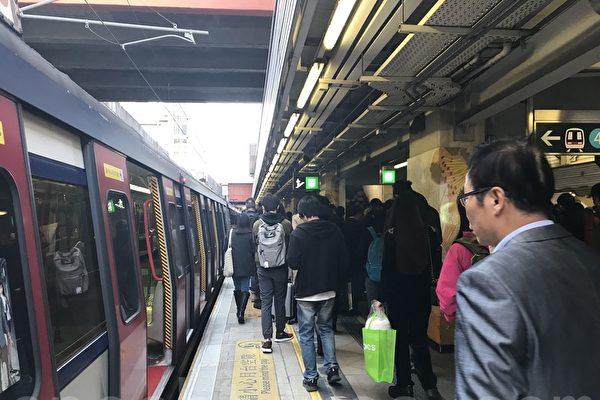 港东铁上下班故障瘫痪两小时