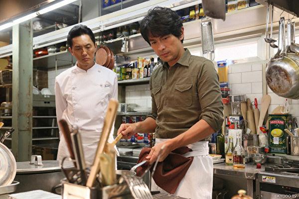 江口洋介飾天才主廚:做出來的菜真的很好吃