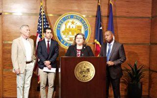 自來水消毒劑低於標準 市長說可安全使用