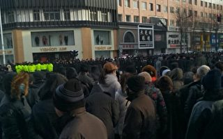 吉林上万民众抗议迁校遭警镇压 数十人被抓
