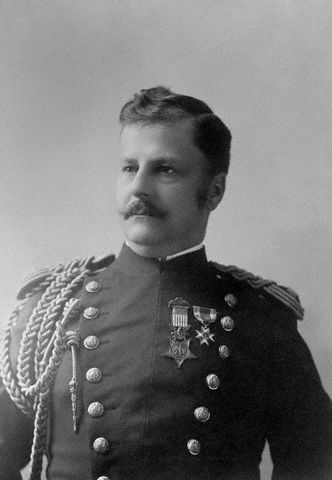 阿瑟.麥克阿瑟(Arthur MacArthur)將軍。(公有領域)