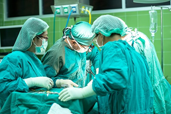 手術示意圖。