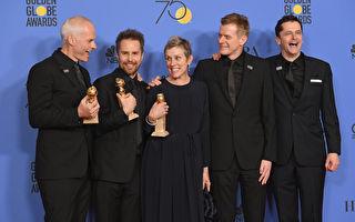 第75届金球奖揭晓 《三块广告牌》获最佳片