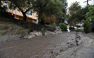 """组图:""""灾区像一战战场""""加州泥石流15死"""