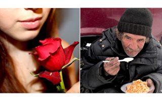 乞丐与玫瑰 感动上亿人的好文 全球广传