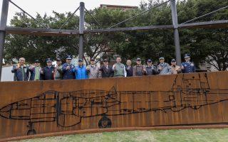 裝置藝術融合黑蝙蝠中隊 東大飛行公園啟用