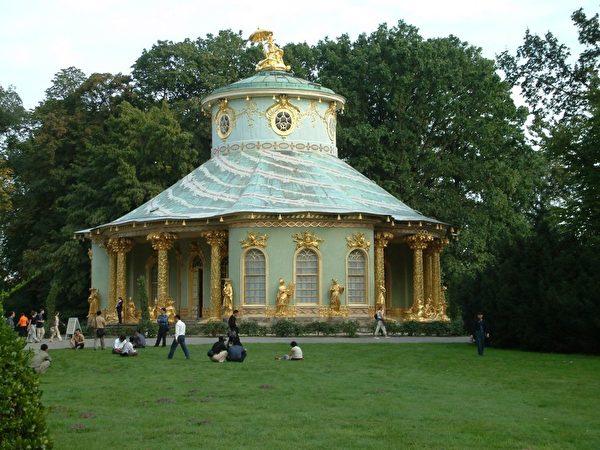 德國波茨坦(Potsdam)聖蘇西宮(Sans Souci)內的「中國茶室」。(Paul Odörfer/公有領域/CC)