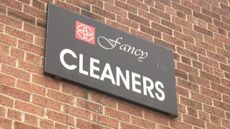 位在東哈林126街夾第三大道的Fancy Cleaners洗衣店。