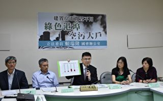 立委促高雄港改善空污 交通部祭防制方案