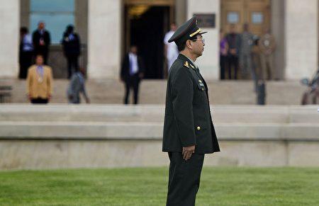 中共軍委聯合參謀部前參謀長房峰輝被證實落馬。(JIM WATSON/AFP/Getty Image)