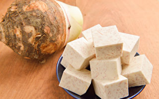 芋頭熱量低、脂肪低,營養豐富平衡,有美容養顏、抗癌等作用。(Shutterstock)