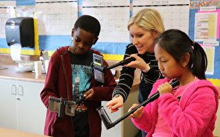 谷歌探險走入舊金山校園    小學生驚喜體驗科技課堂
