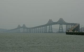 旧金山湾区列治文大桥4月开始东向增加车道