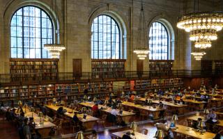 紐約最適合工作學習的公共場所
