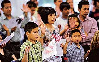 华人跃至美第三大移民群体 占所有移民5%
