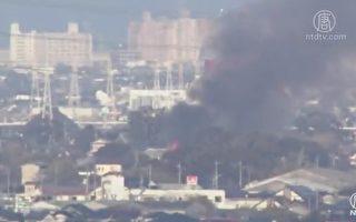 日本阿帕契直升機墜毀民宅 2機員恐喪生