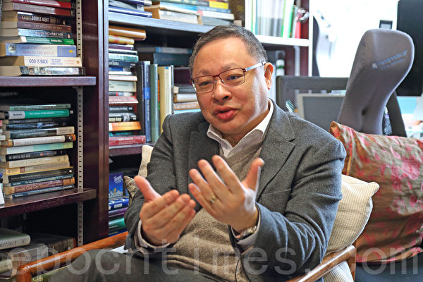 抗中共威权 戴耀廷:守护法治 港人要发声