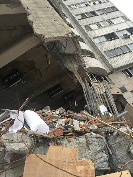 台地震云翠大楼坍塌 建商偷工减料遭声押