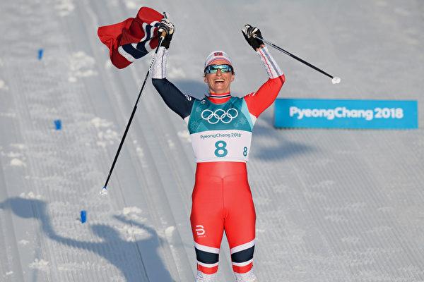 平昌冬奥会 挪威力压德国 登奖牌榜首位