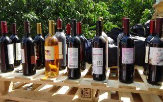 高港警查獲16萬公升假紅酒