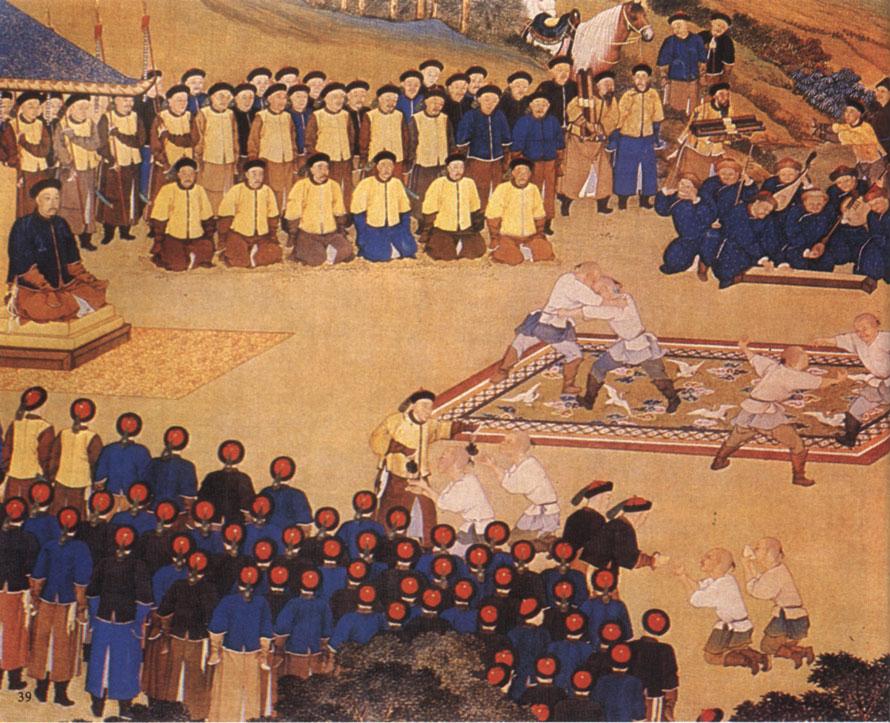 清宮年韻:皇帝祭神 設宴跳舞 皇子軍訓