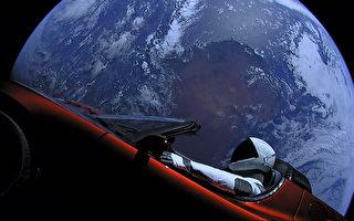 新網站追蹤太空中的特斯拉跑車