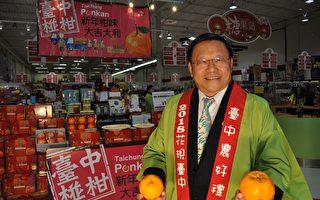 台湾橘皮椪柑进军大温迎新年