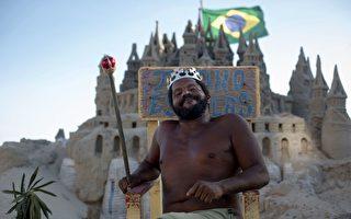 巴西男子在海灘沙堡住22年 樂當「國王」