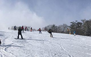 组图:日本东北游之四  安比高原滑雪场