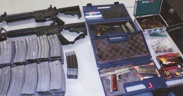 洛高中險遭血洗 17歲學生藏多把槍