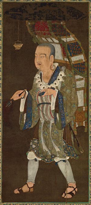 《玄奘西行图》,东京国立博物馆藏。(公有领域)