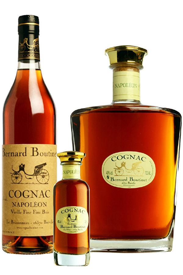 Bernard Boutinet的拿破仑干邑(Cognac Napoléon)。(Bernard Boutinet提供)