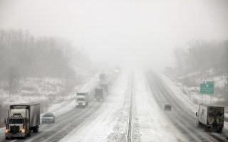 路面积雪 爱荷华和密苏里数百起车祸11人亡