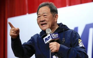 """""""锟P""""对决""""柯P"""" 李锡锟宣布参选台北市长"""