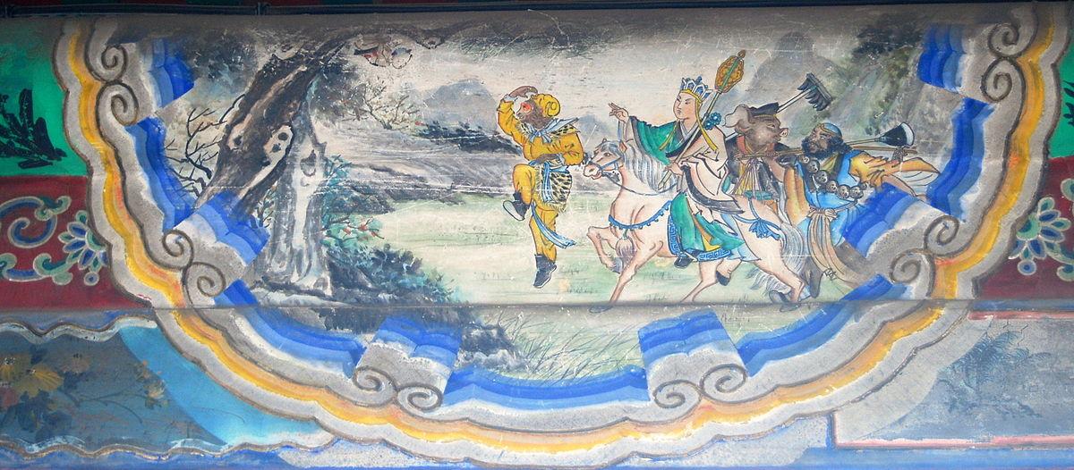【西遊義趣】 一年中 唐僧經歷了十八年