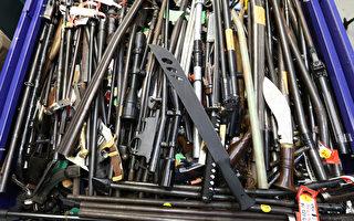 澳洲槍枝特赦 收繳近6萬件武器 新州居首
